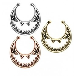 MoonNon-Piercing Septum Hanger