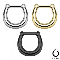 Plain Gems Septum Clicker