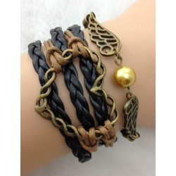 Armband Vingar & hjärta