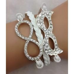 Armband Infinity & ansiktsmask