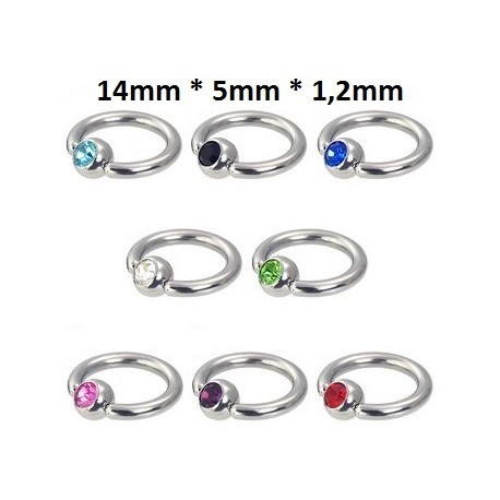 Ring 14mm * 5mm * 1,2mm