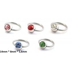 Ring 14mm * 8mm * 1,6mm