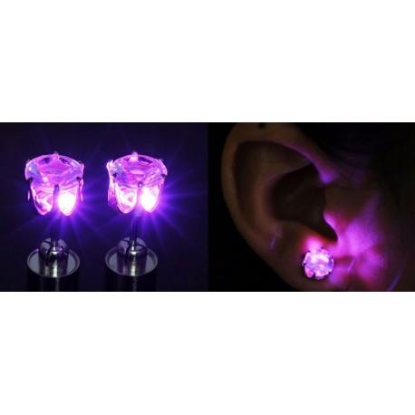 1 par örhängen som lyser