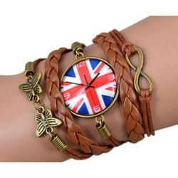 Armband Klocka (UK logga), Infinity och fjäril