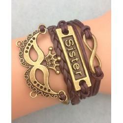 Armband Mask, Sister & Infinity