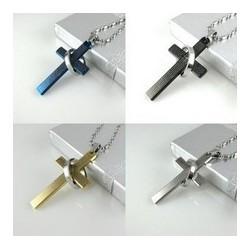 Halsband kors/ring