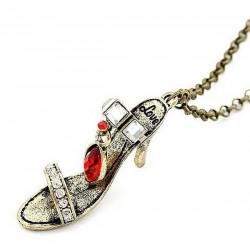 Halsband berlock sko