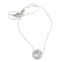 Halsband ring med stenar