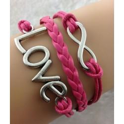 Armband Love & Infinity