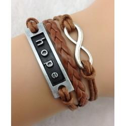 Armband Infinity, hope