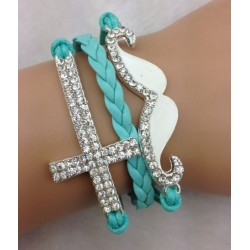 Armband Mustasch & Kors