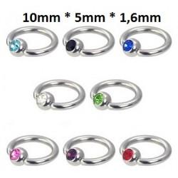 Ring 10mm * 5mm * 1,6mm