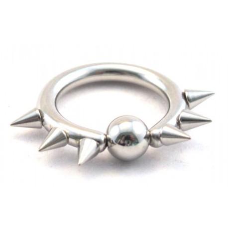 Ringar 15mm*10mm*2,2mm boll/spikar