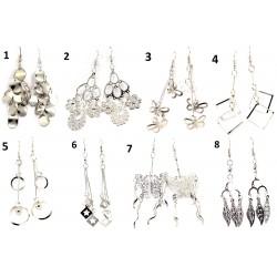 Örhängen i olika modeller