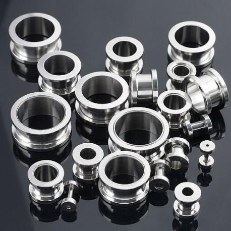 2 tunnlar - Silver - 2mm-38mm