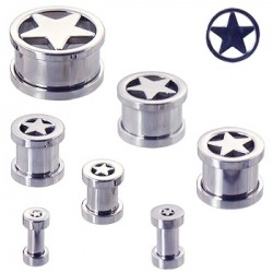 2 tunnlar 6-30mm (stjärna) - Silver