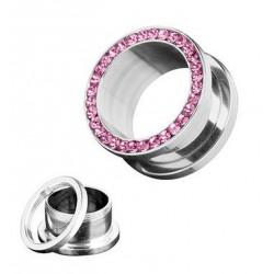 2 st tunnlar 6mm-16mm med rosa stenar